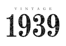 Vintage 1939 (Ancient Black)