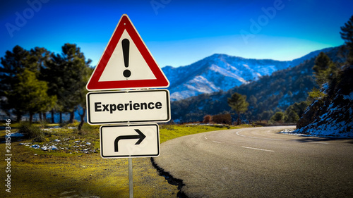 Canvas Prints Personal Street Sign to Experience