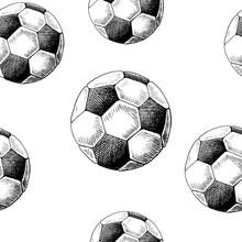 Football Backdrop. Hand Drawn ...