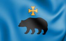 3D Flag Of Przemysl (Podkarpac...