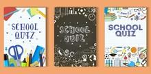 School Quiz Poster Template Se...