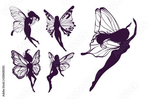 Cuadros en Lienzo Cute Fairy art