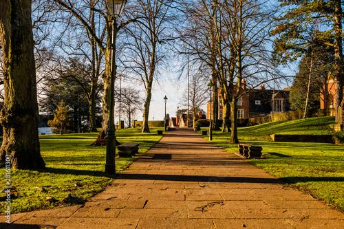 Fotografia bournville suburb of birmingham built bu the cadbury family english midlands eng