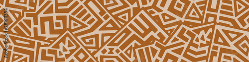 Creative Geometric Vector Seamless Pattern - fototapety na wymiar