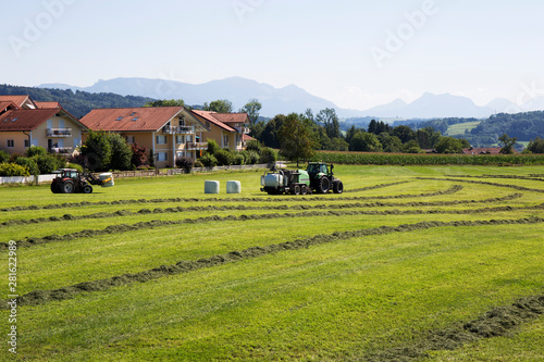 Photo  Agricultural landscape