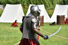 Medieval Polish Knight In A Ch...