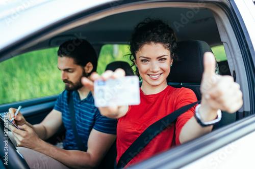 Cuadros en Lienzo  Driving school
