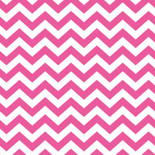 Seamless Pattern With Pink Chevron