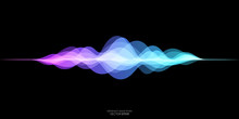 Abstract Motion Sound Wave Equ...