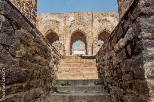Photo  The Amazing landscape of the historic Golconda, Hyderabad, India
