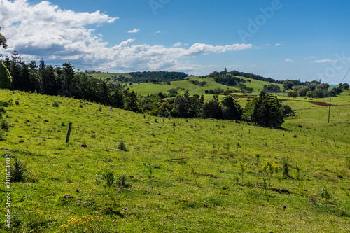 Byron Bay hinterland, Byron Bay, New South Wales, Australia Fototapet