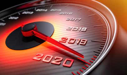 Tachometer 2019 auf 2020