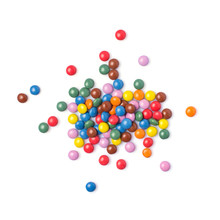 Scattered Multicolored Dragee ...