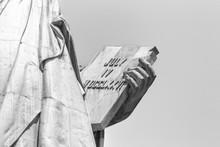 Statue Of Liberty, Left Hand C...