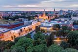 Fototapeta Miasto - Biała Fabryka, Łódź, Polska.