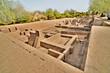 Leinwanddruck Bild - Harappa  -  archaeological site in Punjab, Pakistan