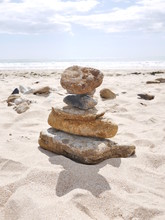 Pierre Galet Stone Stacking