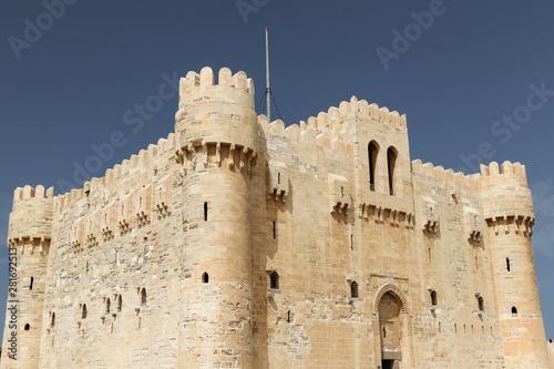 Citadel of Qaitbay in Alexandria, Egypt Wallpaper Mural