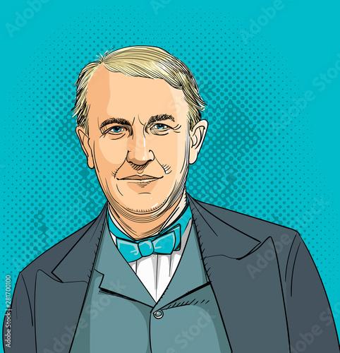 Fototapeta Thomas Edison