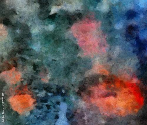 Poster Artificiel Original grunge simple art background. Mixed media pattern backdrop.
