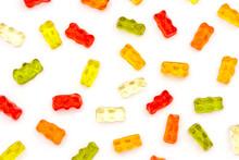 Pattern Of Colorful Fruit Gumm...
