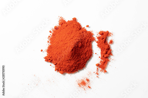 Photo of paprika powder Canvas Print
