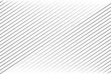 Abstract Black Blend Lines With Oblique Stripe On White Background Vector Illustration