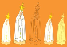 Our Lady Of Fatima Statue.