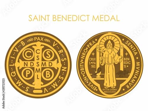 Photo Saint Benedict Medal