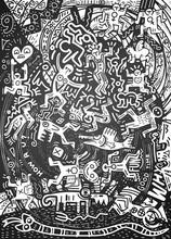 Illustration  ,Hand Drawn Dood...