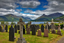 Cemetery, Loch Levens, Scottish Highlands