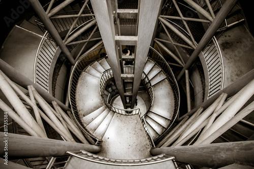 underground staircase