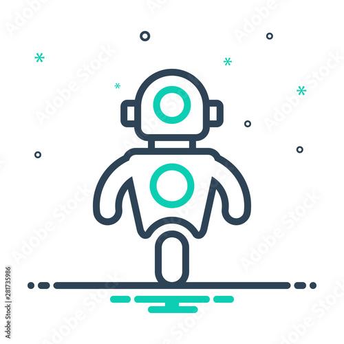 Fotografia, Obraz mix icon for personal droid