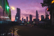Ho Chi Minh City Skyline during sunrise