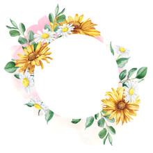 Beautiful Floral Hand Drawn Wa...