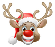 Christmas Reindeer Red Nosed D...