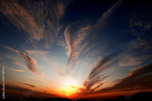 Photo  tramonto in sardegna