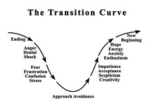Changing Emotions During Transition Curve.