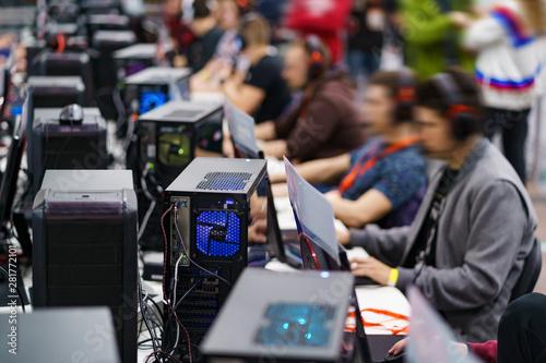 eSport gaming tournament Wallpaper Mural