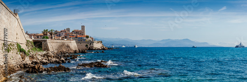 Panoramic of Antibes, France Wallpaper Mural