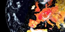 Heatwave Over Europe. Extremel...