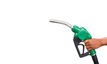 Hand Holding Gas Nozzle With O...