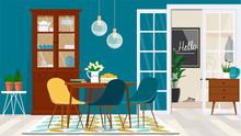 Danish Style Living Room Desig...