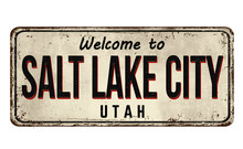 Welcome To Salt Lake City Vint...