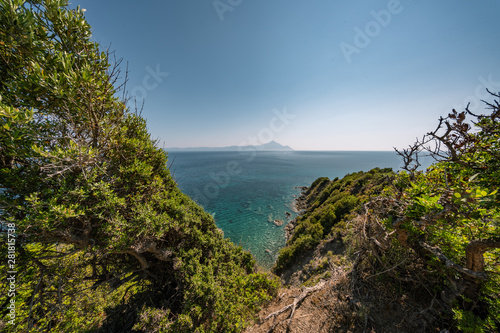 Berg Athos, Griechenland Fototapet
