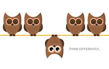 Think Different Funny Idea Con...