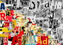 Collage Of Many Numbers And Le...