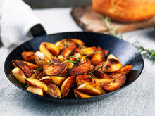 Roasted Potato Wedges With Ros...