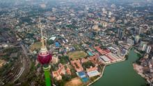 Colombo City And The Lotus Tower Colombo, Sri Lanka