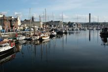 Boats In Peel Harbour